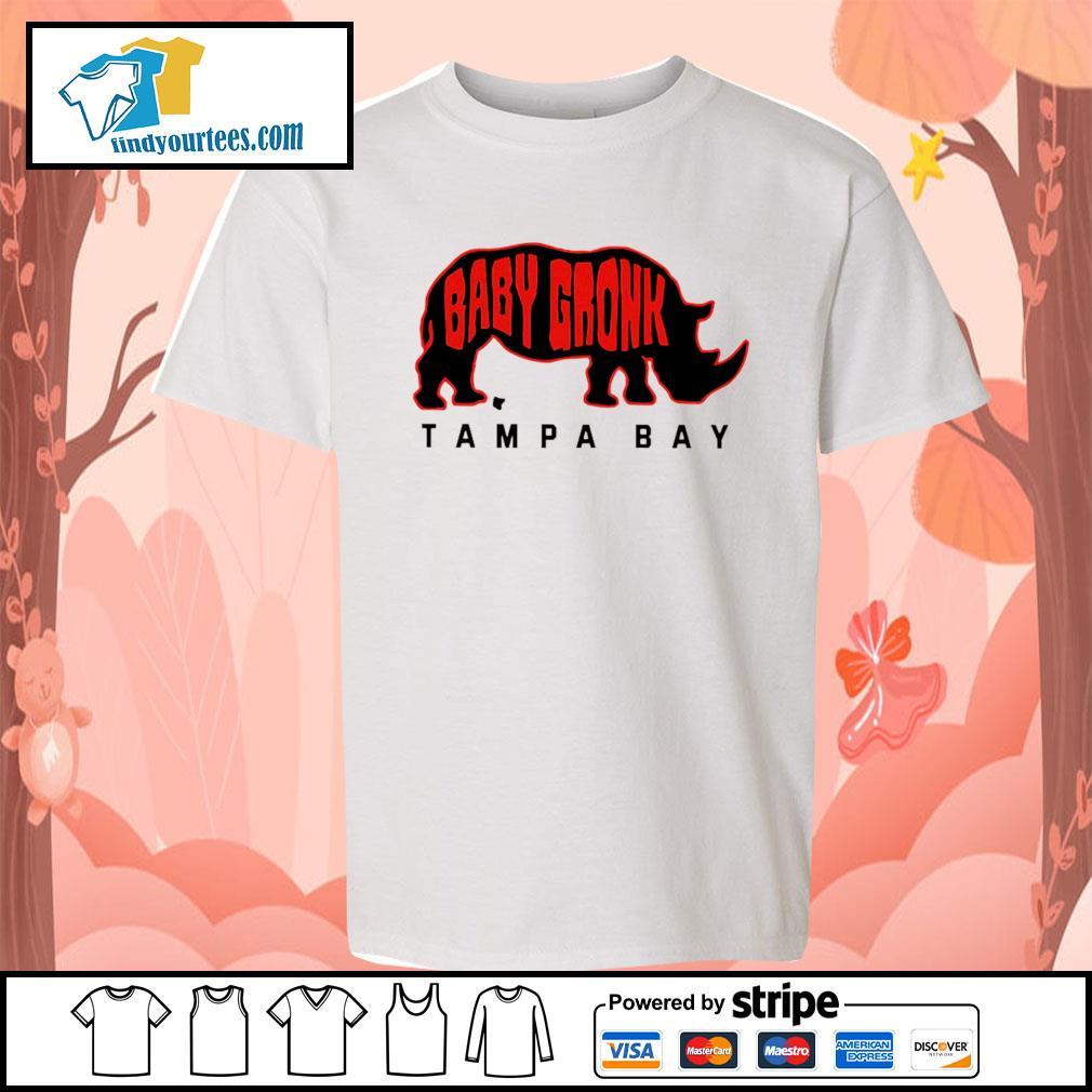 Chubby unicorn baby gronk Tampa Bay s Kid-T-shirt