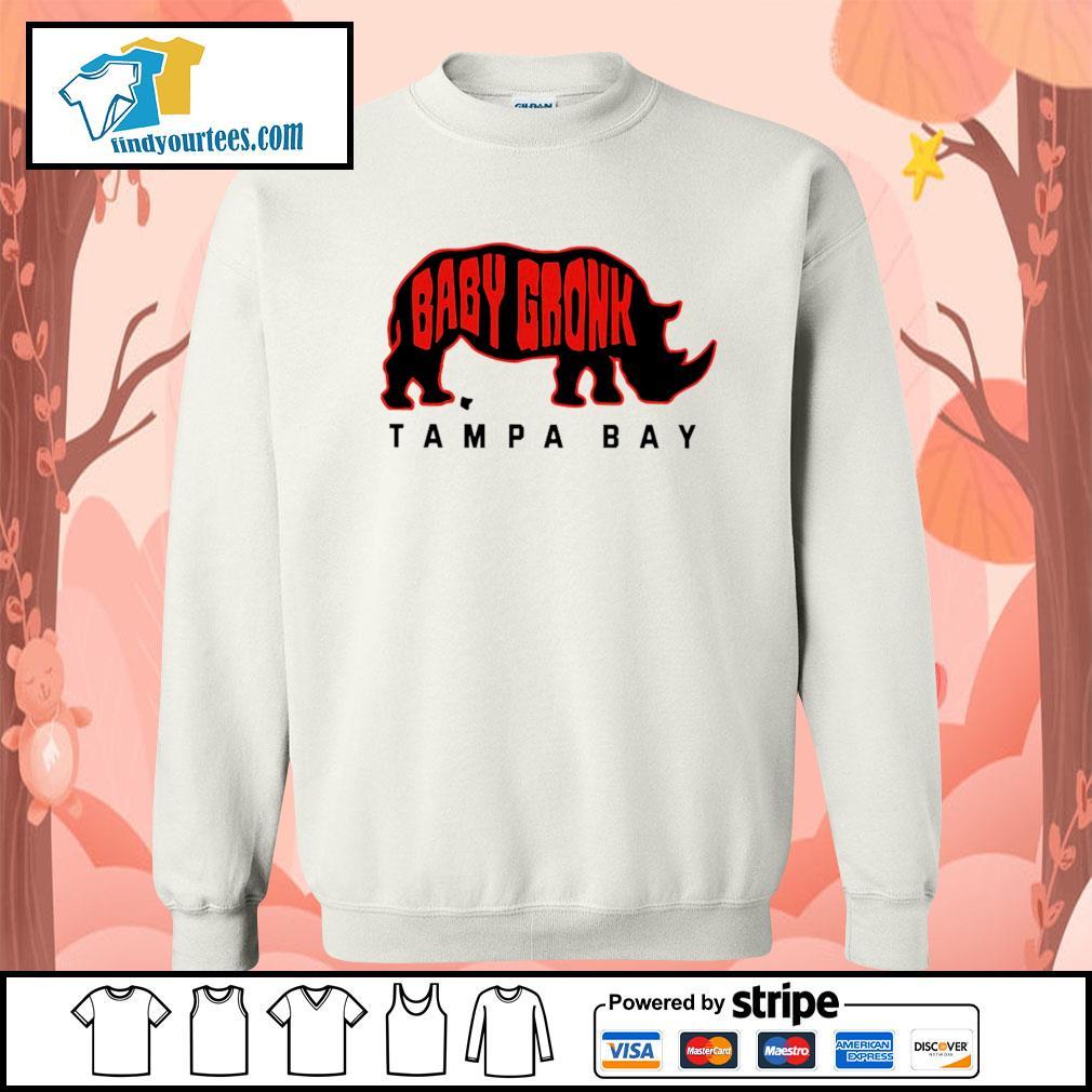 Chubby unicorn baby gronk Tampa Bay s Sweater