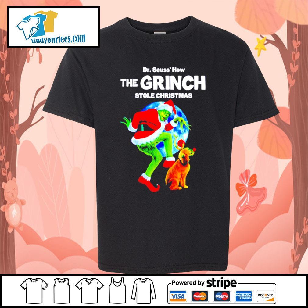 Dr Seuss how the Grinch stole Christmas shirt, sweater Kid-T-shirt