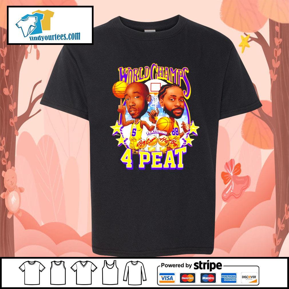 Freddie gibbs world champs 4 peat Los Angeles Dodgers s Kid-T-shirt