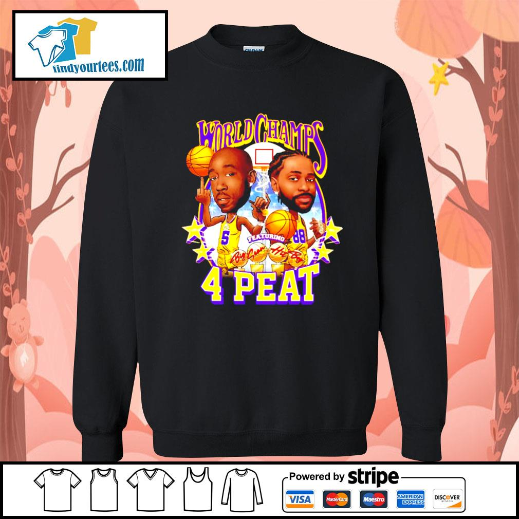 Freddie gibbs world champs 4 peat Los Angeles Dodgers s Sweater