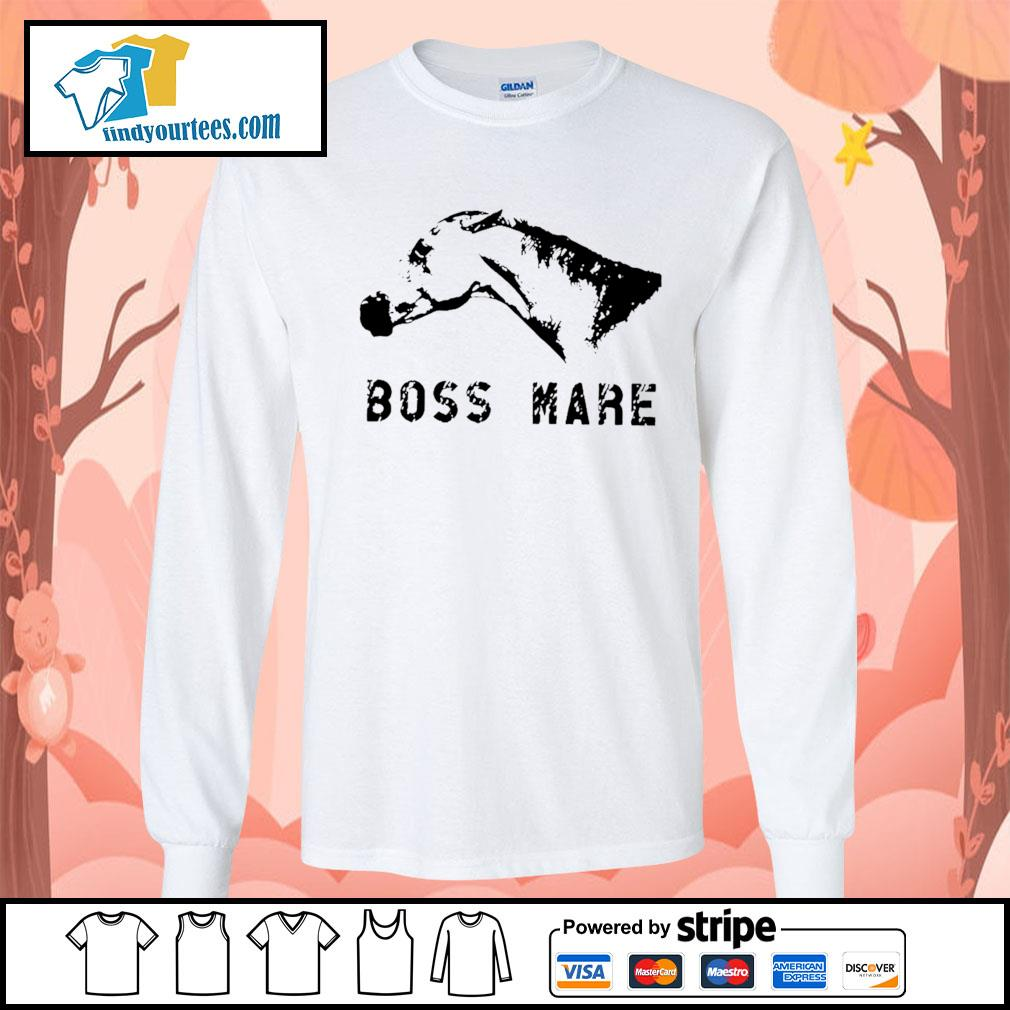 Horse boss mare s Long-Sleeves-Tee