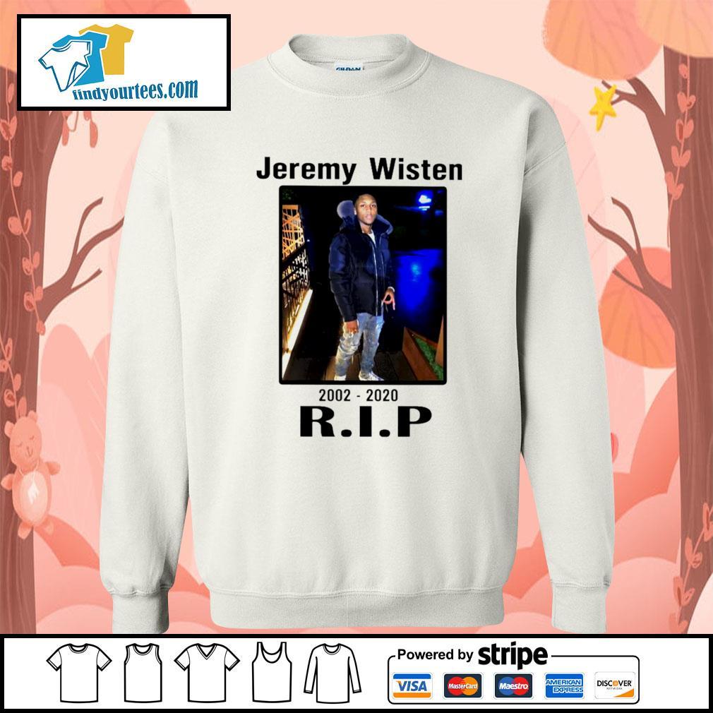 Jeremy Wisten 2002 2020 rip s Sweater