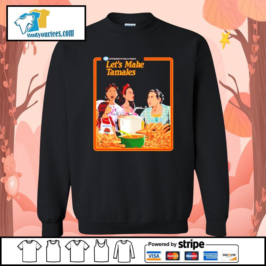 Let's Make Tamales OG Tamale Boss s Sweater