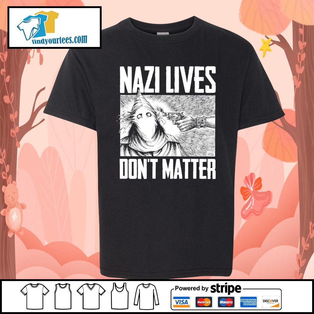 Nazi lives don't matter s Kid-T-shirt