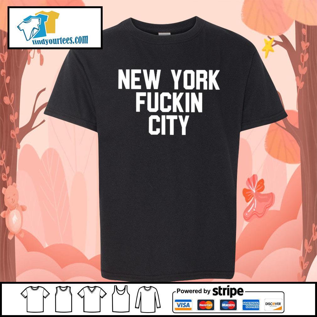 New York Fuckin City s Kid-T-shirt