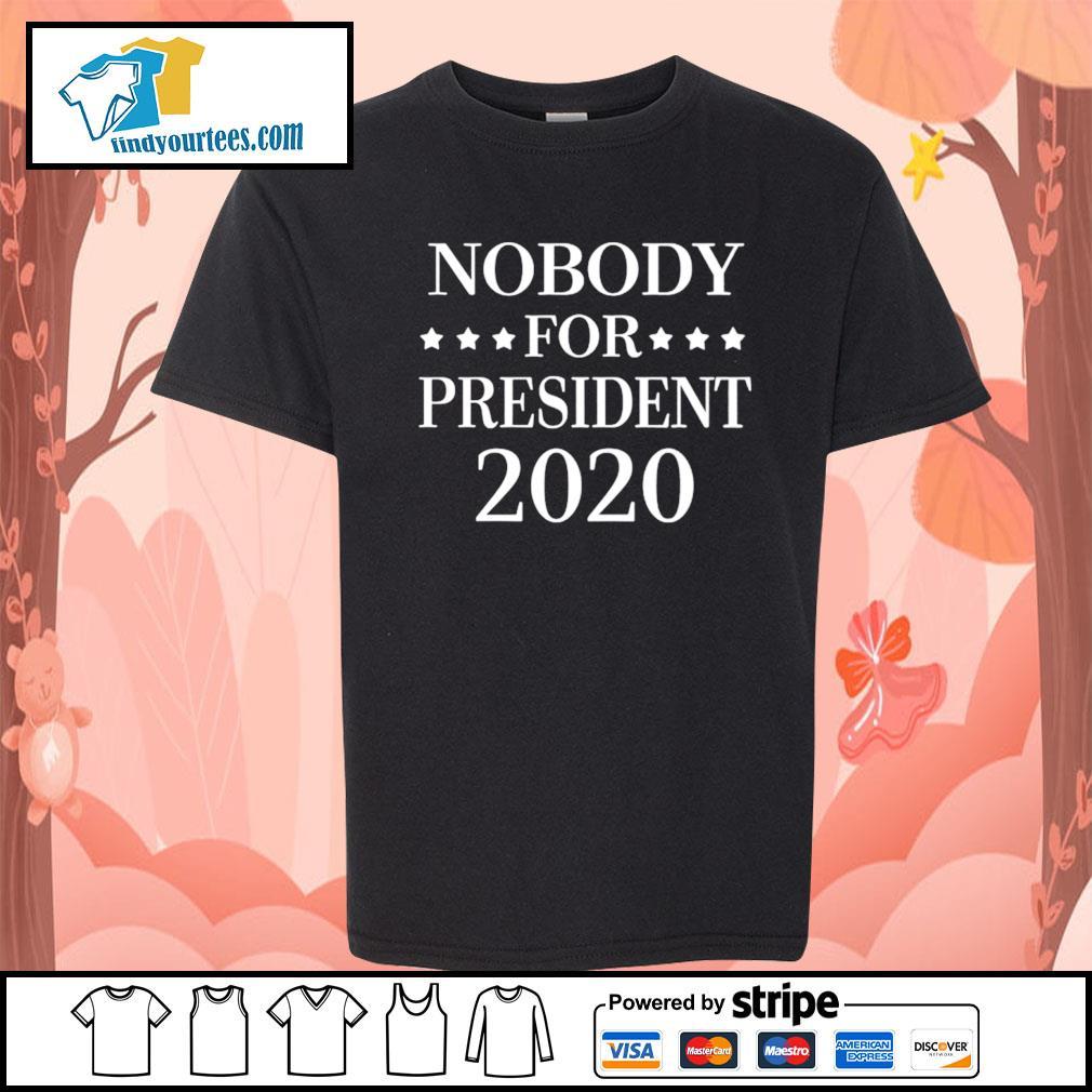 Nobody for president 2020 s Kid-T-shirt