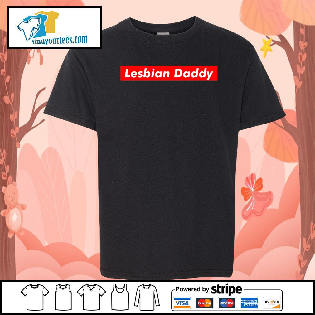 Official Lesbian Daddy s Kid-T-shirt