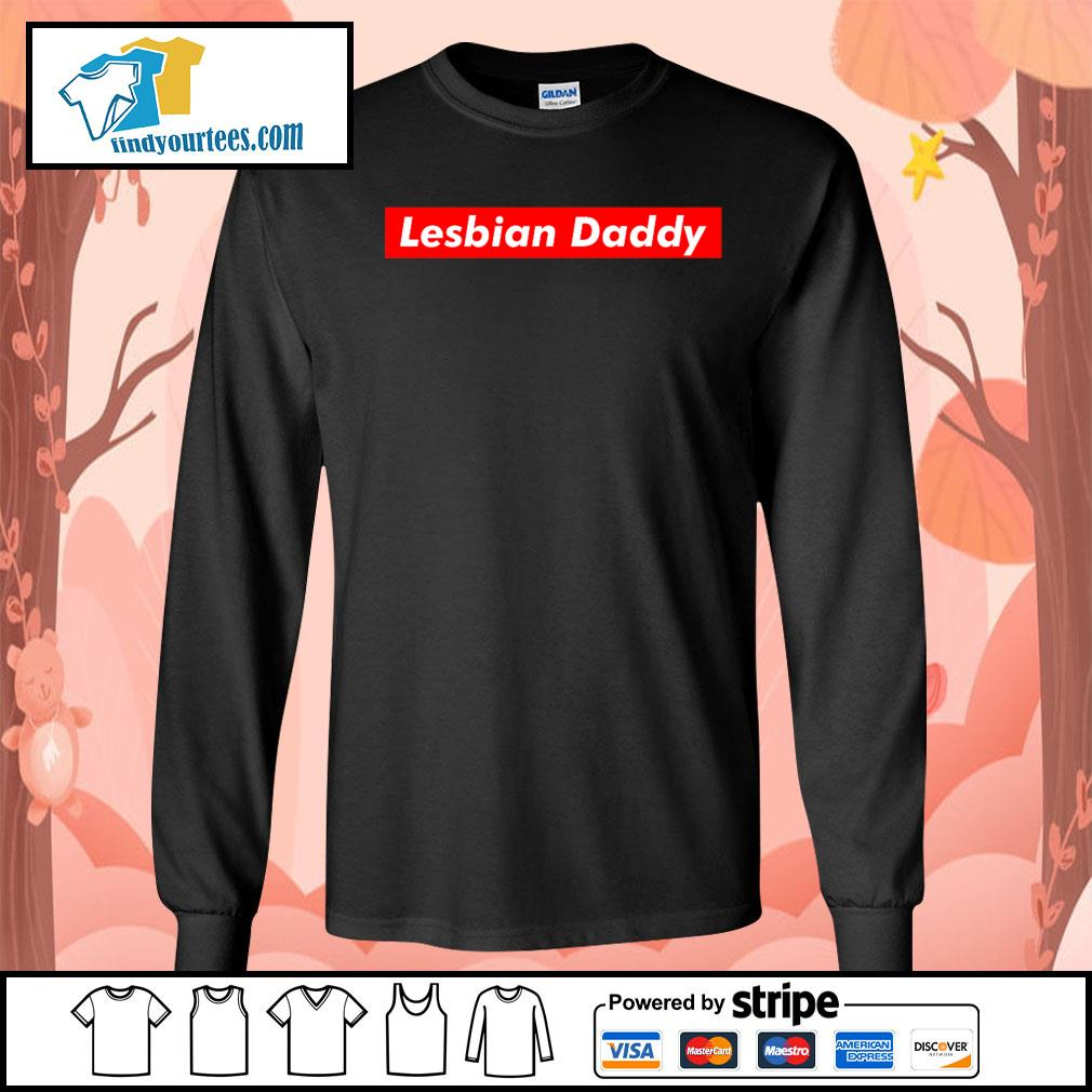 Official Lesbian Daddy s Long-Sleeves-Tee