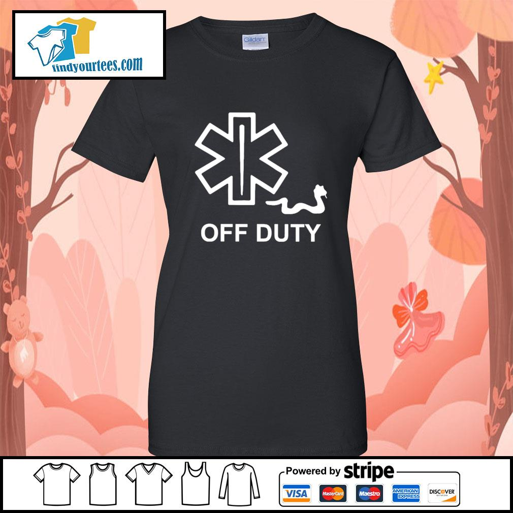 Snake Paramedic off duty s Ladies-Tee