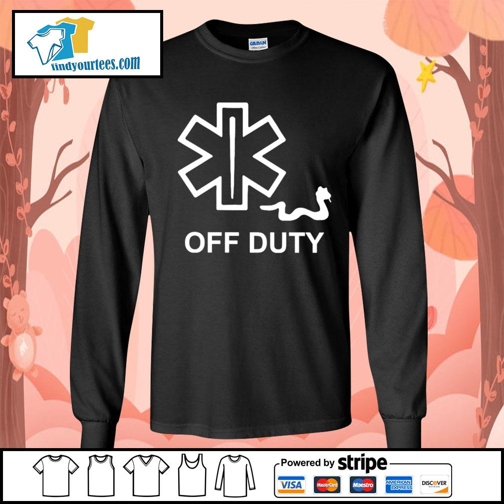 Snake Paramedic off duty s Long-Sleeves-Tee