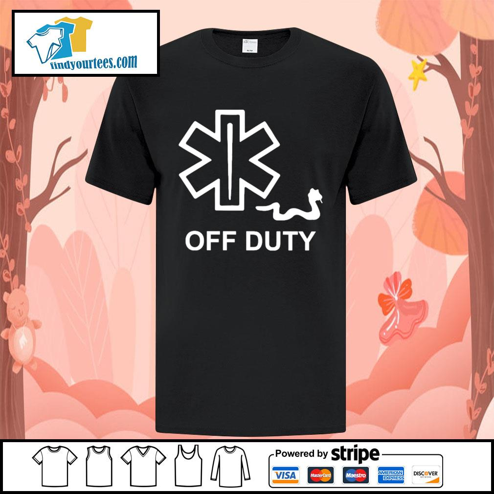 Snake Paramedic off duty shirt