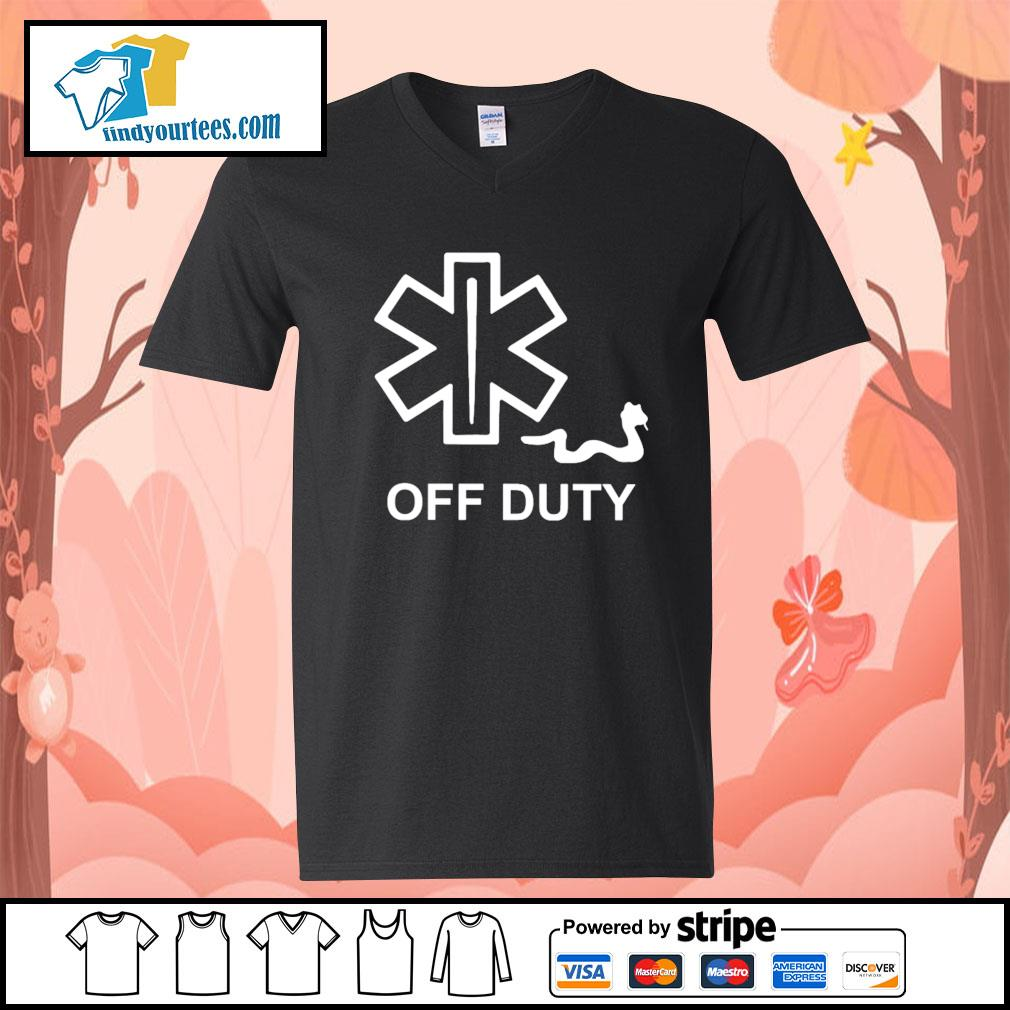 Snake Paramedic off duty s V-neck-T-shirt