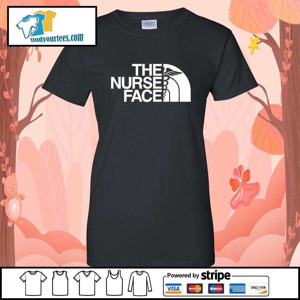 The Nurse Face s Ladies-Tee