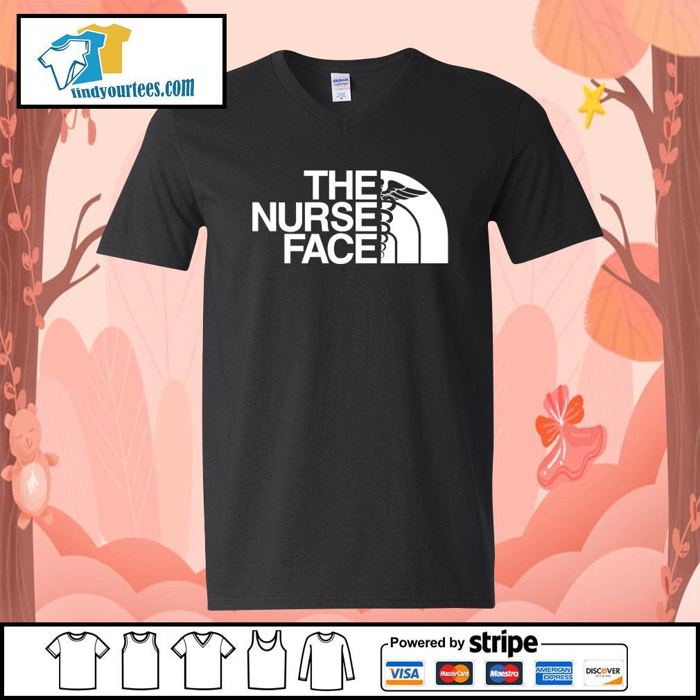 The Nurse Face s V-neck-T-shirt